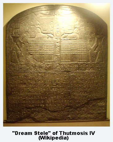 Dream Stele of Tuthmosis IV